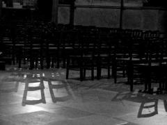 椅子のある光景ー サン・ジェルマン・デ・プレ教会