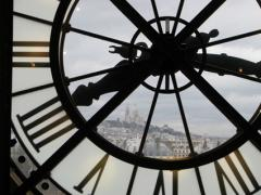 オルセーの時計(モンマルトルの眺望のある)