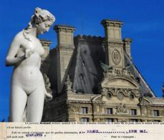 チュイルリーの白い彫像